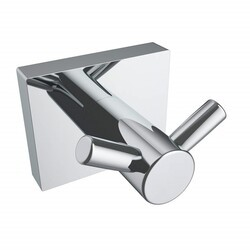 ICO V6225 CRATER DOUBLE TOWEL HOOK