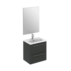 ROYO 126158 STREET 20 INCH VANITY SET WITH MIRROR IN ANTHRACITE