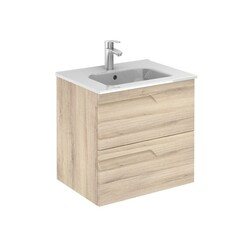 ROYO 125992 VITALE 24 INCH VANITY IN NATURE BEIGE WITH 2 DRAWERS