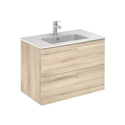 ROYO 125995 VITALE 32 INCH VANITY IN NATURE BEIGE WITH 2 DRAWERS