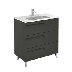 ROYO 126002 VITALE 32 INCH VANITY IN NATURE GREY WITH 3 DRAWERS