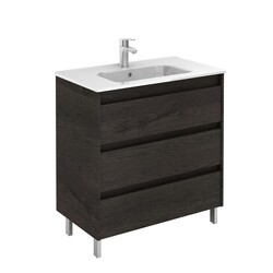 ROYO 125458 SANSA 32 INCH VANITY IN WENGE WITH 3 DRAWERS
