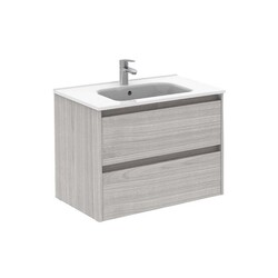 ROYO 125931 SANSA 32 INCH VANITY IN SANDY GREY WITH 2 DRAWERS