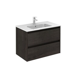 ROYO 126150 SANSA 32 INCH VANITY IN WENGE WITH 2 DRAWERS