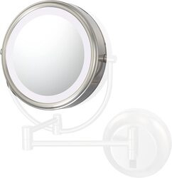 APTATIONS 745-94577L KIMBALL & YOUNG 9 INCH OPTIONAL LENS FOR NEOMODERN LED LIGHTED MIRROR IN BRUSHED NICKEL