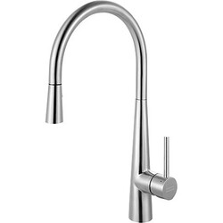 FRANKE FF3450 STEEL PULL-DOWN KITCHEN FAUCET