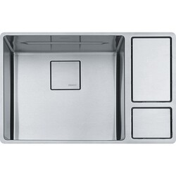 FRANKE CUX11018-W 28 INCH STAINLESS STEEL KITCHEN SINK