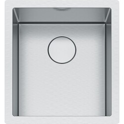 FRANKE PS2X110-15 PROFESSIONAL 2.0 SERIES 17-1/2 INCH UNDERMOUNT SINGLE BOWL STAINLESS STEEL SINK, 16-GAUGE