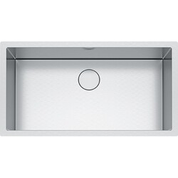 FRANKE PS2X110-33 PROFESSIONAL 2.0 SERIES 35-1/2 INCH UNDERMOUNT SINGLE BOWL STAINLESS STEEL SINK, 16-GAUGE