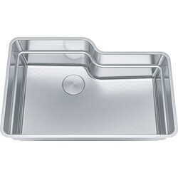 FRANKE OR2X110 ORCA 2.0 SERIES 30-11/16 INCH UNDERMOUNT SINGLE BOWL SINK, STAINLESS STEEL