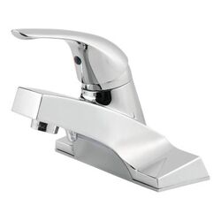 PFISTER LG142-5000 PFIRST SERIES 6 1/2 INCH DECK MOUNT SINGLE CONTROL BATHROOM FAUCET - POLISHED CHROME