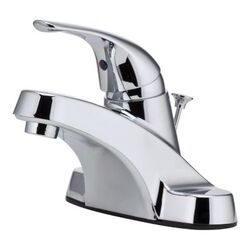 PFISTER LG142-7000 PFIRST SERIES 5 7/8 INCH DECK MOUNT SINGLE CONTROL BATHROOM FAUCET - POLISHED CHROME