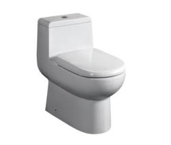 FRESCA FTL2351 ANTILA ONE-PIECE DUAL FLUSH TOILET W/ SOFT CLOSE SEAT