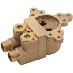 PFISTER 0X6-270R SINGLE HOLE FREE-STANDING ROUGH-IN VALVE WITH STOPS