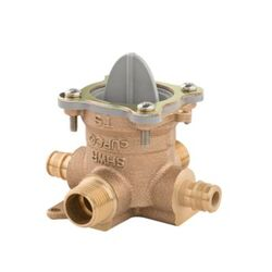 PFISTER JV8-410P 0X8 SERIES TUB AND SHOWER ROUGH-IN VALVE - 1/2 INCH COLD EXPANSION PEX INLETS