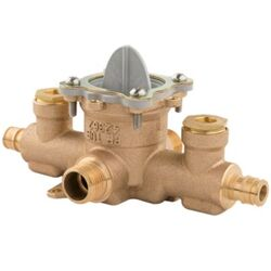 PFISTER JV8-440P 0X8 SERIES TUB AND SHOWER ROUGH-IN VALVE WITH INTEGRAL STOPS AND TEST PLUG
