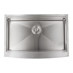 STRICTLY SA30A 30 INCH STAINLESS STEEL FARMHOUSE APRON KITCHEN SINK SET