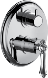 SANTEC 7097GL-TM CHADWICK 1/2 INCH THERMOSTATIC TRIM WITH VOLUME CONTROL AND 2-WAY DIVERTER
