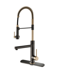 KRAUS KPF-1603-DP03SB ARTEC PRO 2-FUNCTION COMMERCIAL STYLE PRE-RINSE KITCHEN FAUCET WITH PULL-DOWN SPRING SPOUT AND POT FILLER