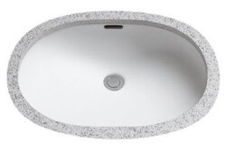 TOTO LT546G 19-11/16 X 19-3/4 INCH UNDERCOUNTER LAVATORY WITH SANAGLOSS
