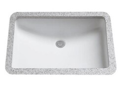 TOTO LT542G 19 X 12-3/8 INCH UNDERCOUNTER LAVATORY WITH SANAGLOSS