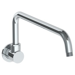 WATERMARK SS-BRO70AF BROOKLYN 14 INCH WALL MOUNT SWIVEL SHOWER ARM WITH FLANGE