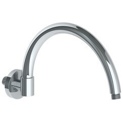 WATERMARK SS-NPT70AF NAPA 12 3/8 INCH WALL MOUNT ARCH SHOWER ARM WITH FLANGE