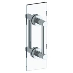 WATERMARK 111-0.1-6DDP SUTTON 6 INCH GLASS MOUNT DOUBLE SHOWER DOOR PULL