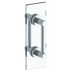 WATERMARK 111-0.1A-DDP SUTTON 24 INCH GLASS MOUNT DOUBLE SHOWER DOOR PULL