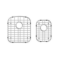 SWISS MADISON SM-KU704-G DUAL STAINLESS STEEL UNDERMOUNT KITCHEN SINK GRIDS FOR 33 X 22 INCH SINKS