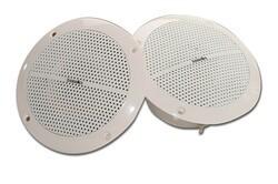 THERMASOL HOM-SPK-WHT ROUND STEAM SHOWER SPEAKERS - WHITE