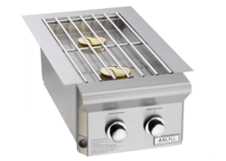 AOG 3282PL DROP-IN PROPANE GAS DOUBLE SIDE BURNER L-SERIES
