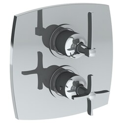 WATERMARK 115-T20 H-LINE 7 1/2 INCH WALL MOUNT THERMOSTATIC SHOWER TRIM WITH BUILT-IN CONTROL