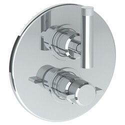 WATERMARK 25-T20 URBANE 7 1/2 INCH WALL MOUNT THERMOSTATIC SHOWER TRIM WITH BUILT-IN CONTROL