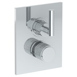 WATERMARK 27-T20 SENSE 6 1/4 X 8 INCH WALL MOUNT THERMOSTATIC SHOWER TRIM WITH BUILT-IN CONTROL