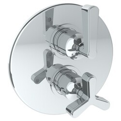 WATERMARK 30-T20 ANIKA 7 1/2 INCH WALL MOUNT THERMOSTATIC SHOWER TRIM WITH BUILT-IN CONTROL