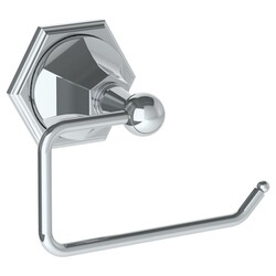 WATERMARK 205-0.4.1 BEVERLY 5 3/4 INCH WALL MOUNT SINGLE POST TOILET PAPER HOLDER