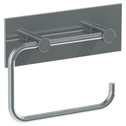 WATERMARK 21-0.4 ELEMENTS 6 1/8 INCH WALL MOUNT SINGLE POST TOILET PAPER HOLDER