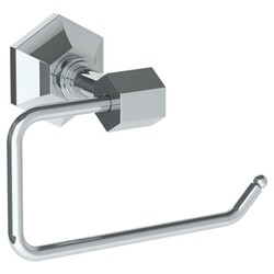 WATERMARK 314-0.4.1 BEVERLY 5 3/4 INCH WALL MOUNT SINGLE POST TOILET PAPER HOLDER