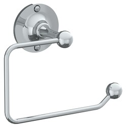 WATERMARK 321-0.4 STRATFORD 6 INCH WALL MOUNT SINGLE POST TOILET PAPER HOLDER