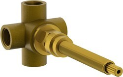 WATERMARK SS-VCWD3 1/2 INCH VOLUME CONTROL WITH THREE WAY DIVERTER VALVE