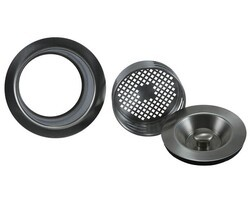 MOUNTAIN PLUMBING MT130 3-IN-1 COMPLETE STOPPER AND STRAINER UNIT WASTE DISPOSER TRIM WITH EXTENDED FLANGE