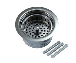 MOUNTAIN PLUMBING MT7799EV COMPLETE STOPPER AND STRAINER UNIT WASTE DISPOSER TRIM WITH EXTENDED FLANGE