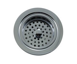 MOUNTAIN PLUMBING MT8799 TRADITIONAL 3 1/2 INCH DUO BASKET STRAINER FOR KITCHEN SINK