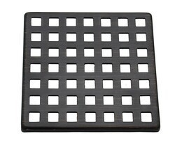 MOUNTAIN PLUMBING MT607 MOUNTAIN REVIVE 4 INCH SQUARE SHOWER GRID