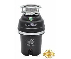 MOUNTAIN PLUMBING MT888-3CFWD3B PERFECT GRIND CONTINUOUS FEED 1 1/4 HP FOOD WASTE DISPOSER