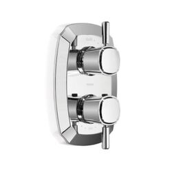 TOTO TS970C1#CP GUINEVERE THERMOSTATIC MIXING VALVE WITH ONE-WAY VOLUME CONTROL AND LEVER HANDLES