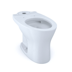 TOTO CT746CUFG DRAKE DUAL FLUSH ELONGATED UNIVERSAL HEIGHT TOILET BOWL WITH CEFIONTECT