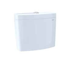 TOTO ST446EMA AQUIA IV DUAL FLUSH 1.28 AND 0.8 GPF TOILET TANK ONLY WITH WASHLET+ AUTO FLUSH COMPATIBILITY