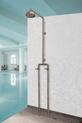 SONOMA FORGE WB-SHW-1040 WATERBRIDGE 91 3/4 INCH FLOOR MOUNT EXPOSED SHOWER SYSTEM